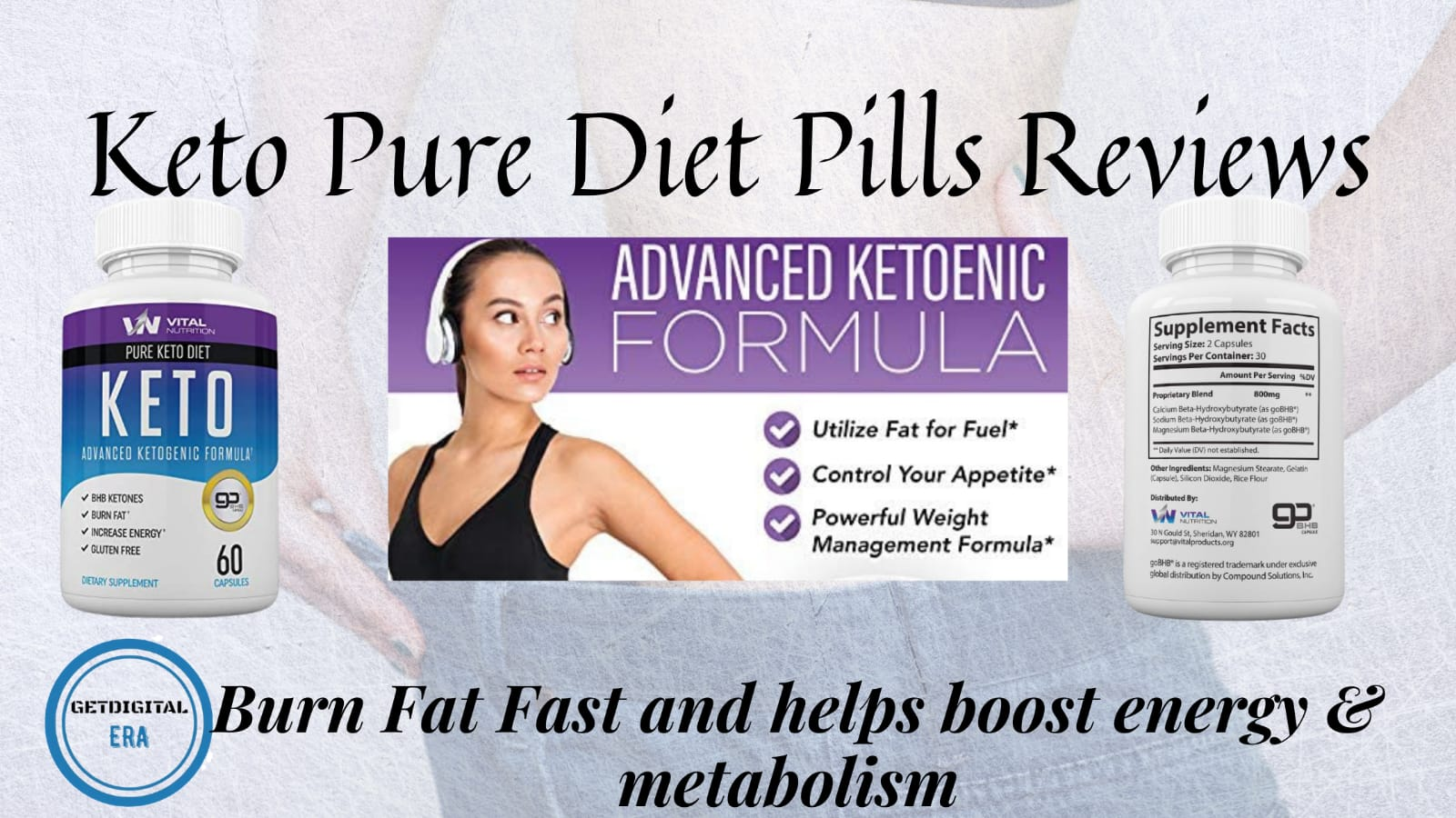 Keto Pure Diet Pills Reviews
