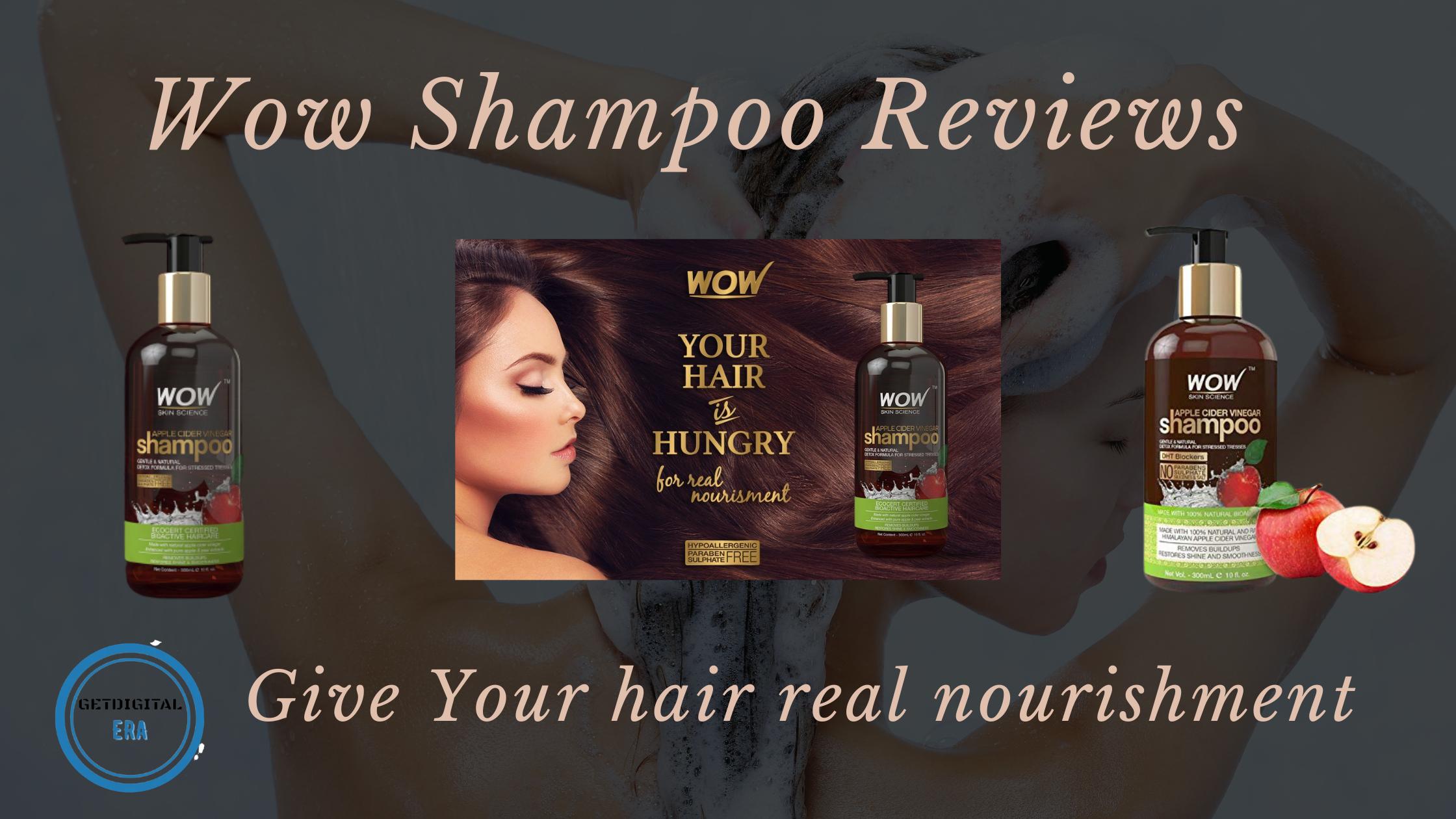 Wow Shampoo Reviews