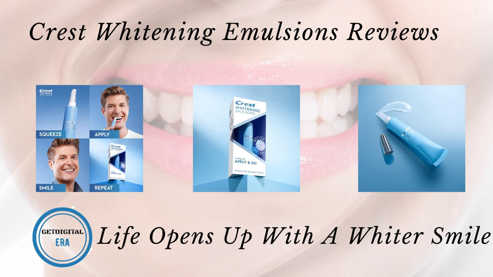 Crest Whitening Emulsion Reviews