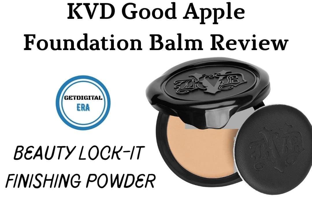KVD Good Apple Foundation Balm Review
