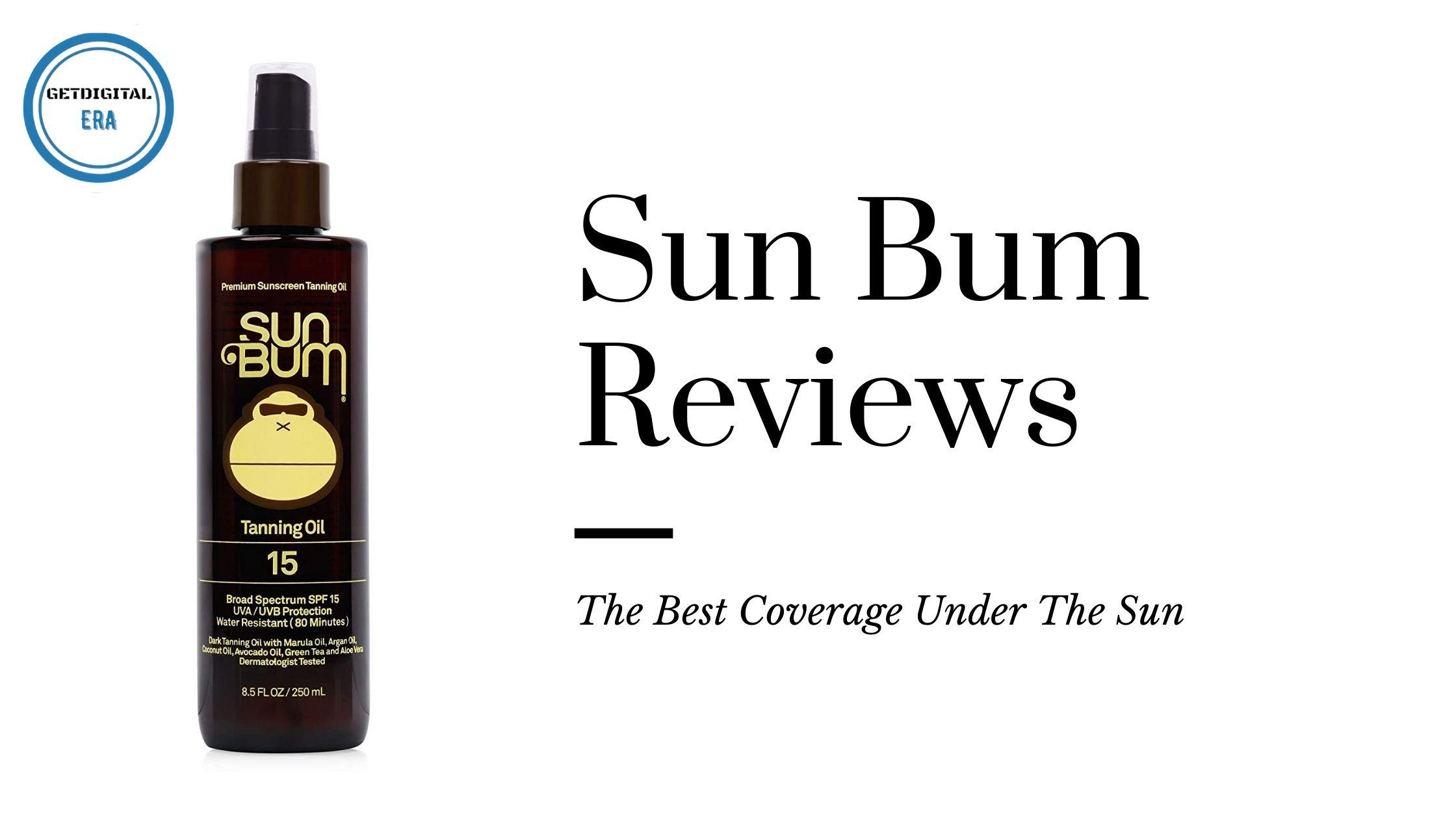 Sun Bum Reviews
