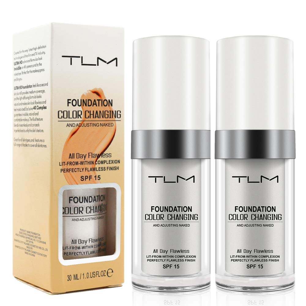 TLM Color Changing Foundation Review