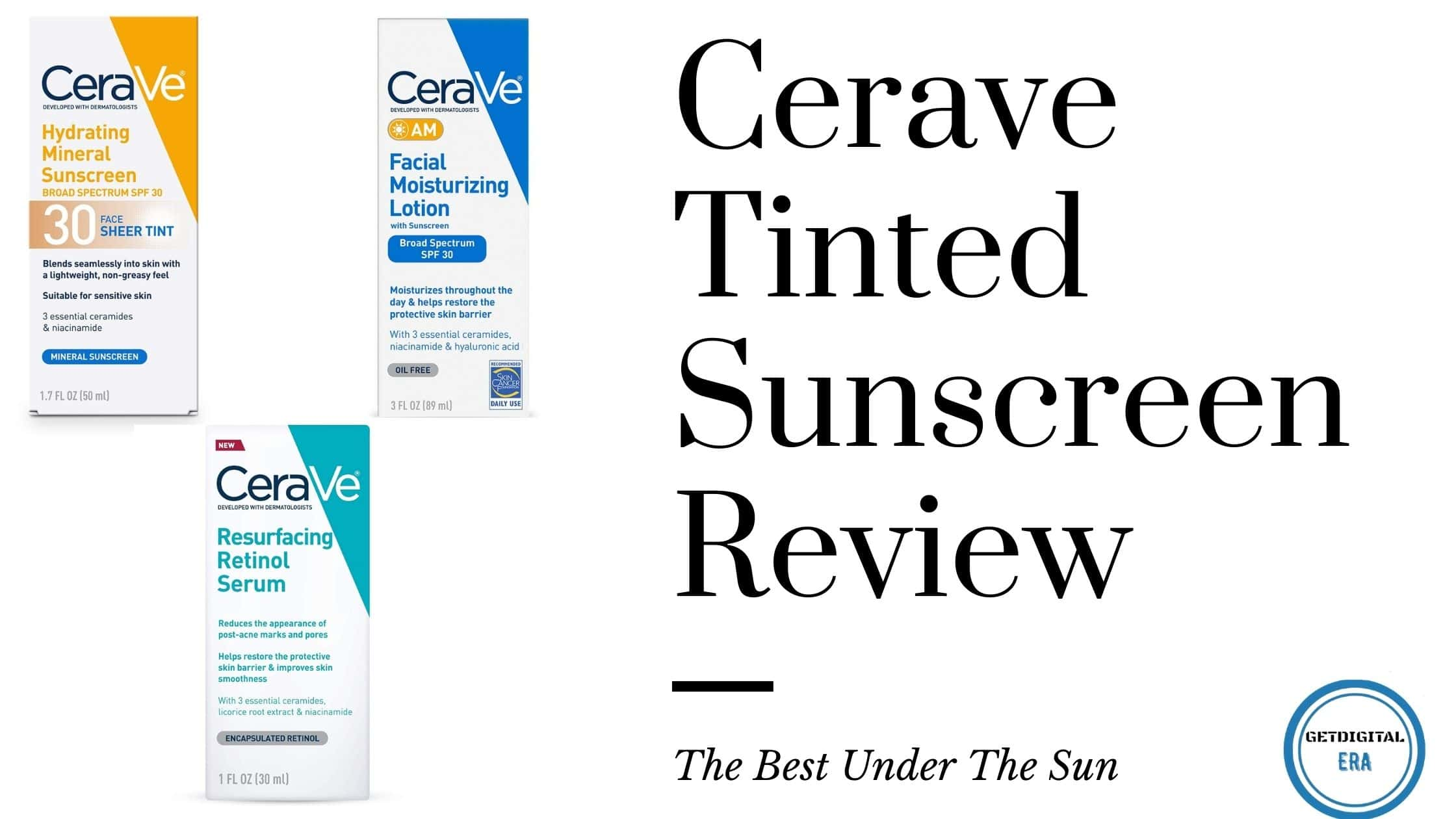 Cerave Tinted Sunscreen Review