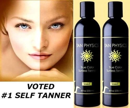 Tan Physics True Color Sunless Tanner Reviews